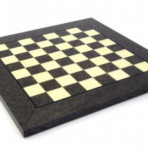 Briar Erable Wood, Green Color Chessboard (Square 1,9 Inch)