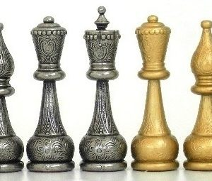 Big Flowering Staunton Chessmen