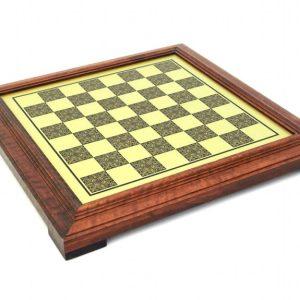 Little Brass Staunton Chessboard