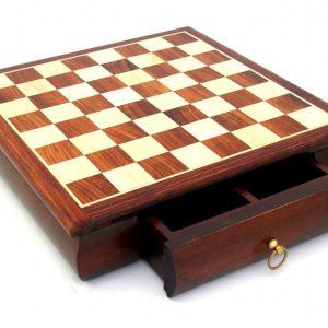 Staunton 64 Inlay Chessboard