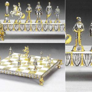 Reinassance Complete Chess Set(Board And Pieces)