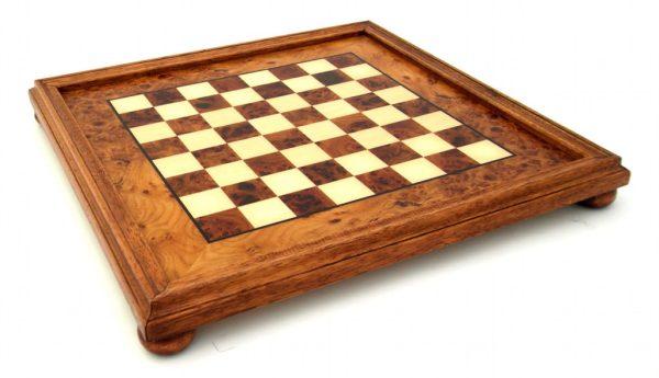Small Oriental Class Brass Chessboard